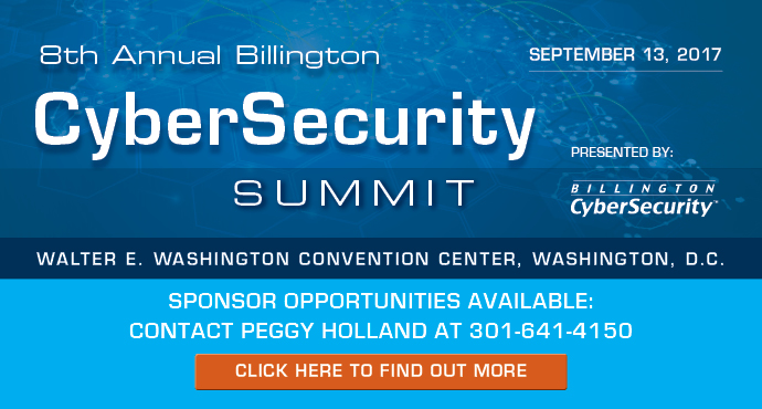 8th Annual Billington CyberSecurity Summit Sept. 13