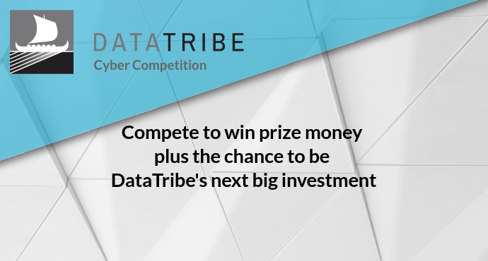 Compete to win prize money plus the chance to be DataTribe's next big investment