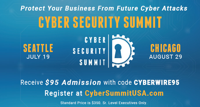 Cyber Security Summit - CYBERWIRE95