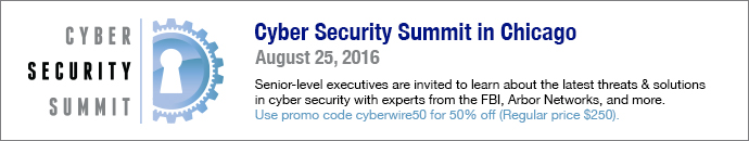 Cyber Security Summit - Promo: cyberwire50
