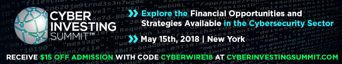 Third Annual Cyber Investing Summit 5/15/18