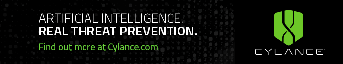 CYLANCE - ARTIFICIAL INTELLIGENCE, REAL THREAT PREVENTION